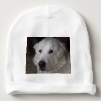 Handsome Great Pyrenees Dog Baby Beanie