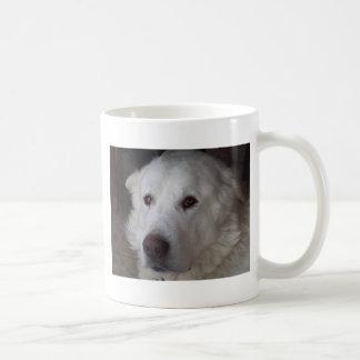Handsome Great Pyrenees Dog Coffee Mug