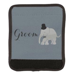Handsome Grey Vintage Elephant Groom Handle Wrap