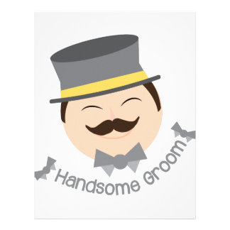 Handsome Groom Personalized Letterhead
