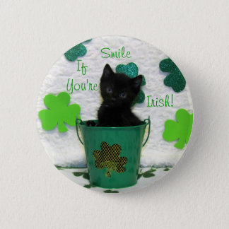 Handsome Jack's St. Patrick's Day Button