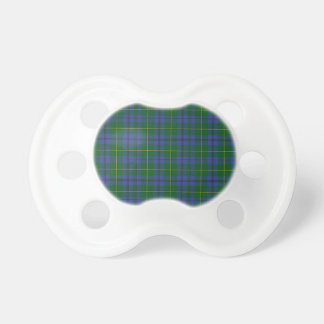 Handsome Johnston Tartan Plaid Baby Pacifier