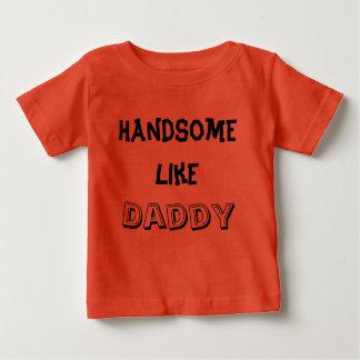 Handsome like daddy Kids T-shirt