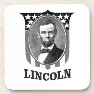 handsome  Lincoln shield Drink Coaster