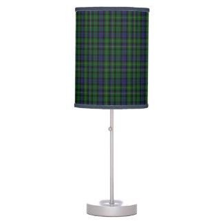 Handsome MacBride Scottish Tartan Plaid Table Lamp