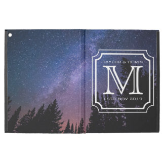 "Handsome Monogram Beautiful Landscape Photo Simple iPad Pro 12.9"" Case"