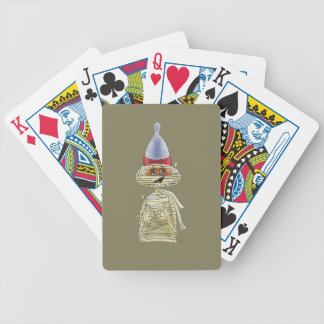 Handsome Mummific Bicycle Playing Cards
