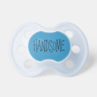 """Handsome"" pacifier"