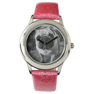 Handsome Pug Wristwatch