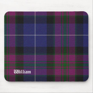 Handsome Purple Pride of Scotland Tartan Plaid Mouse Pad