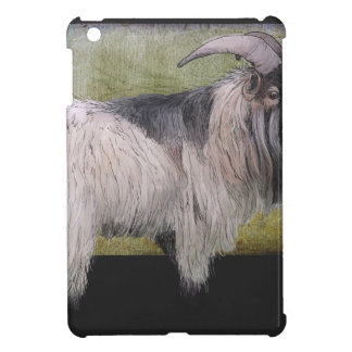 Handsome pygmy goat case for the iPad mini