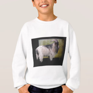 Handsome pygmy goat sweatshirt