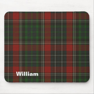 Handsome Red & Green Stuart Tartan Plaid Mouse Pad