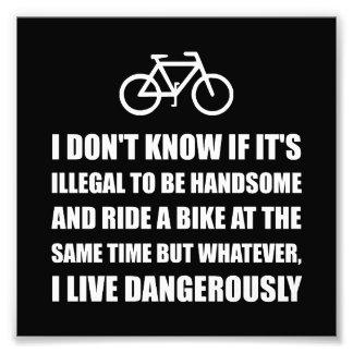 Handsome Ride Bike Photo