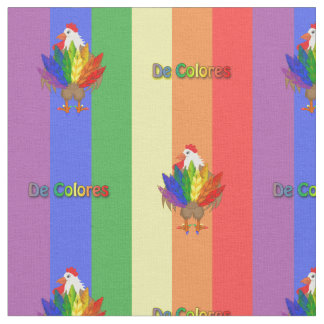 Handsome Rooster with De Colores