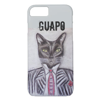 Handsome Tuxedo Cat iPhone 7 Case