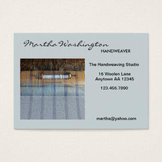 Handweaving Loom Business Card