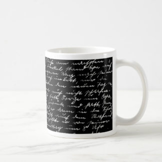 Handwriting Coffee Mug