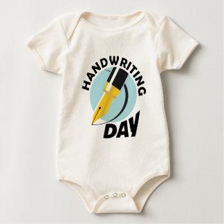 Handwriting Day - Appreciation Day Baby Bodysuit