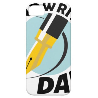 Handwriting Day - Appreciation Day iPhone 5 Cases