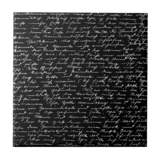 Handwriting Tile