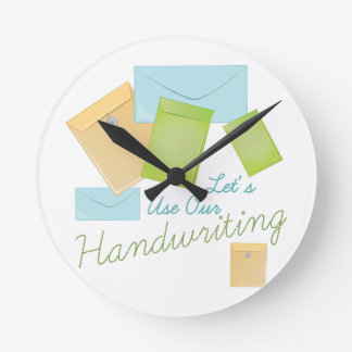 Handwriting Wallclock