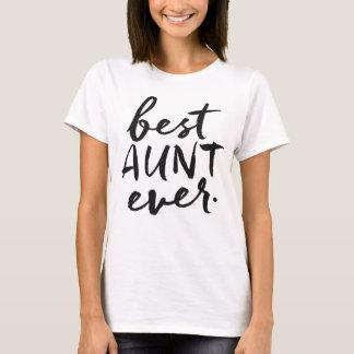 Handwritten Best Aunt Ever T-Shirt
