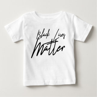 Handwritten Black Lives Matter Baby T-Shirt