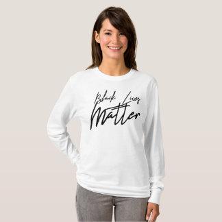 Handwritten Black Lives Matter Long Sleeve T-Shirt