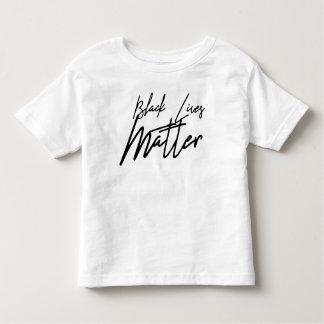 Handwritten Black Lives Matter Toddler T-Shirt