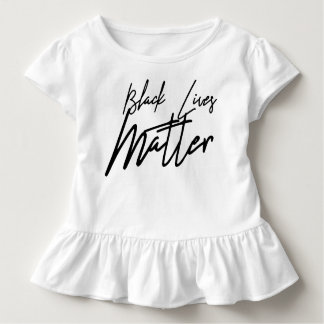 Handwritten Black Lives Matter Toddler T-Shirt