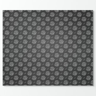 Handwritten Chalkboard Holidays Wrapping Paper