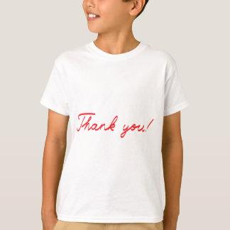 handwritten Thank You note T-Shirt