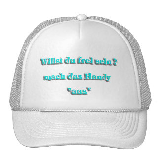 handy from turquoise mesh hats