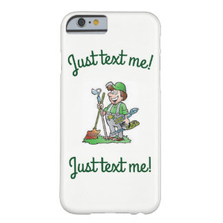 Handy man just text iphone 6/6S green white case