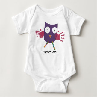 Handy Owl - Infant Baby Bodysuit