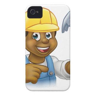 Handyman Carpenter Hammer Man iPhone 4 Case