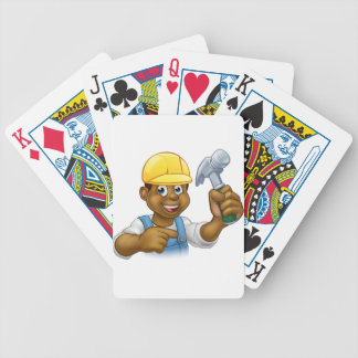 Handyman Carpenter Hammer Man Poker Deck