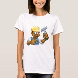 Handyman Carpenter Hammer Man T-Shirt
