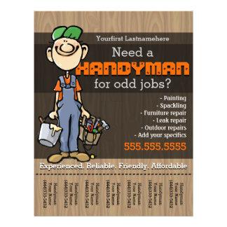 Handyman.Carpenter.PlumberPainter.Odd jobs Flyer Design