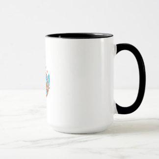 Handyman Cordless Drill Paintroller Oval Stars Ret Mug