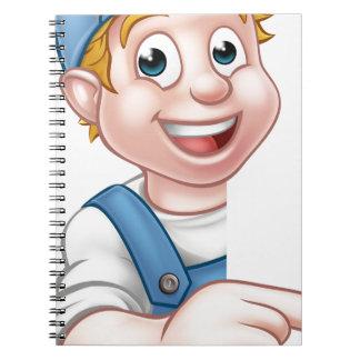 Handyman Mechanic Plumber Gardener Decorator Notebook