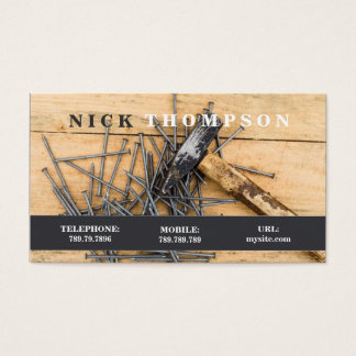 Handyman Repairman Carpenter House Care Business Card