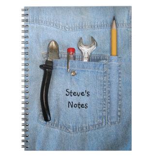 Handyman Spiral Note Book