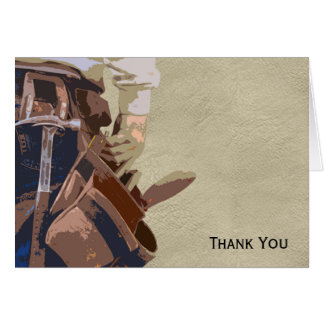 Handyman Tools Watercolor Card