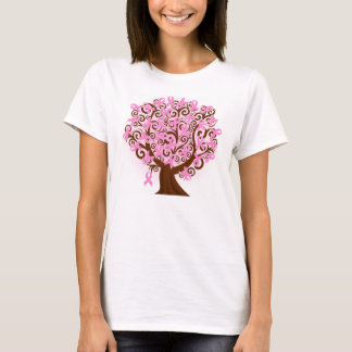Hanes Breast cancer tree of Hope T-Shirt