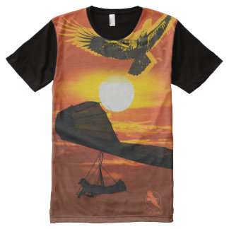 HANG GLIDER HG-30 PontoCentral All-Over-Print T-Shirt