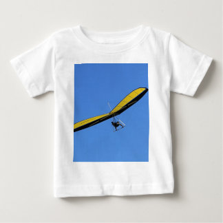 Hang glider in the sky baby T-Shirt