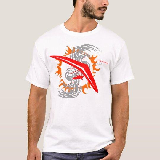 Hang Gliding Cross Country Pilot T-Shirt