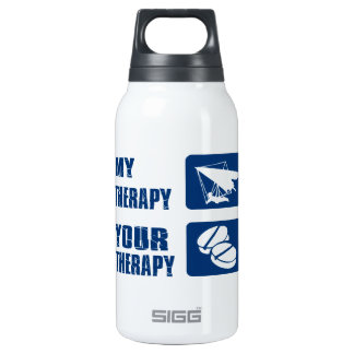 Hang gliding designs insulated water bottle